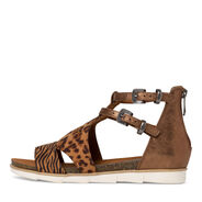 Sandal - metallic, BRONCE COMB., hi-res