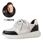 Sneaker - weiß, WHITE/BLACK, hi-res