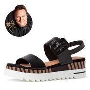 Sandalette - schwarz, BLACK ANTIC, hi-res