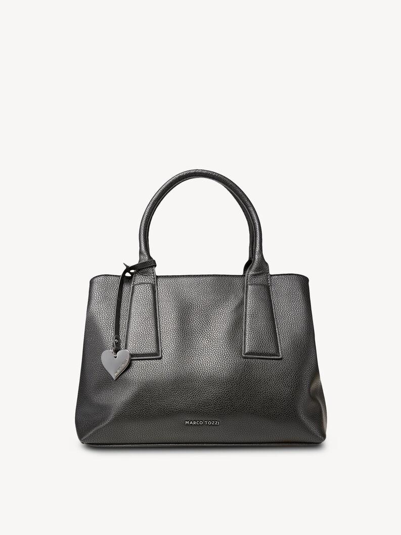 Shopping bag - black, BLACK, hi-res