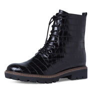 Bootie - black, BLACK CROCO, hi-res