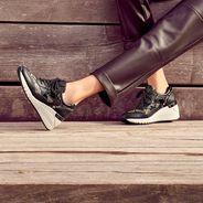 Sneaker - schwarz, BLACK COMB, hi-res