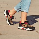 Sneaker - schwarz, BLACK/LEO, hi-res