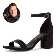 Sandalette - schwarz, BLACK METALLIC, hi-res