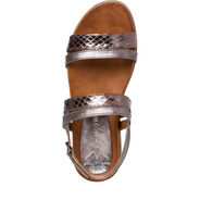 Sandal - metallic, PEWTER COMB, hi-res