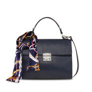 Handbag - blue, NAVY COMB, hi-res