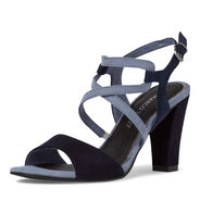 Heeled sandal - blue, DENIM COMB, hi-res