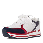 Sneaker - white, WHITE/NAVY M., hi-res