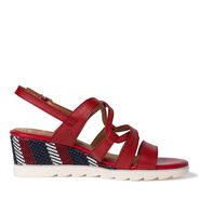 Heeled sandal - red, CHILI COMB, hi-res