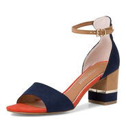 Sandalette - blau, NAVY COMB, hi-res