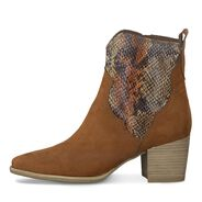 Bootie - brown, COGNAC COMB, hi-res