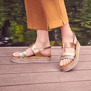 Sandal - rose, ROSE MET. COMB, hi-res