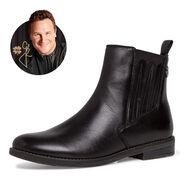 Leder Chelsea Boot - schwarz, BLACK ANTIC, hi-res