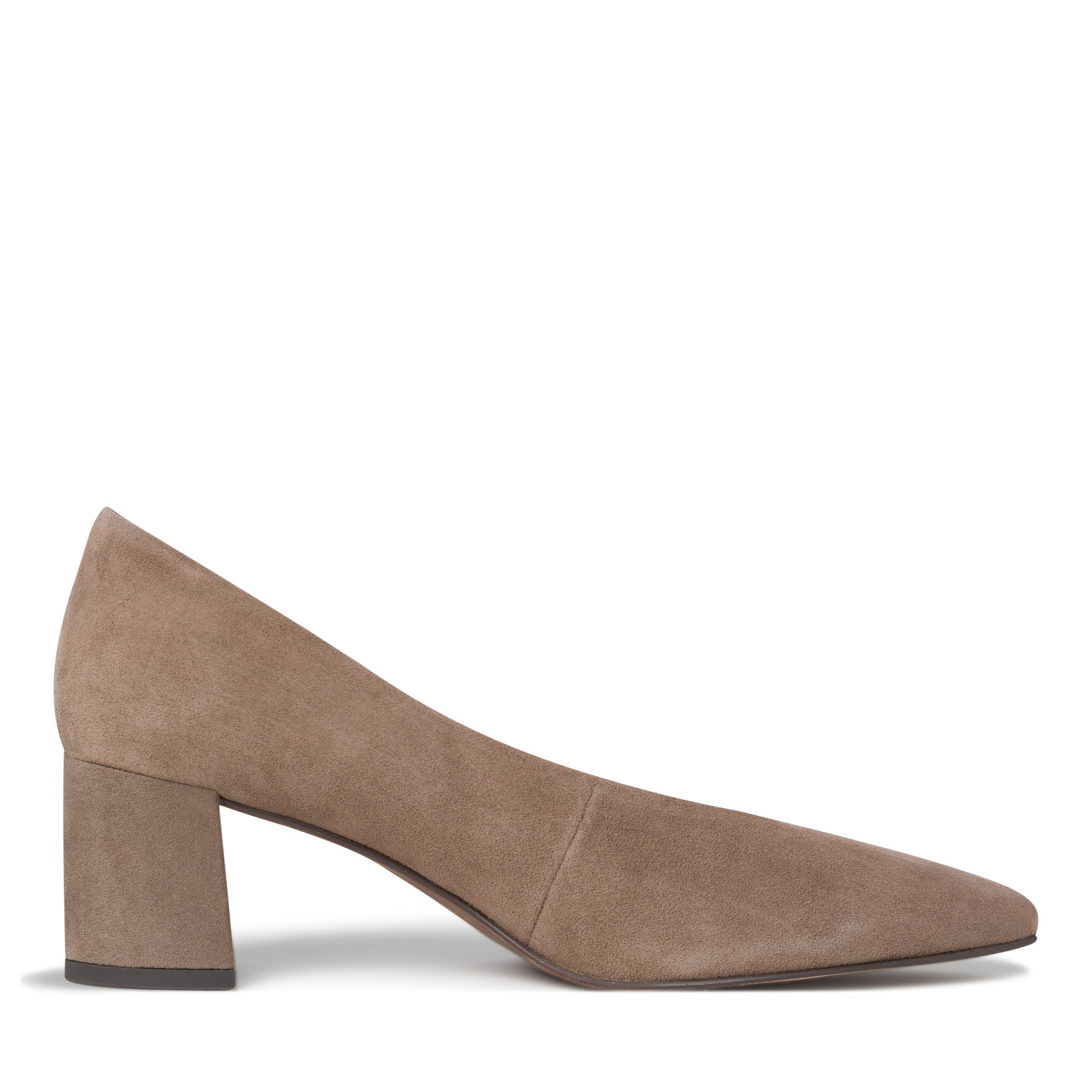 Leather Pumps - beige, TAUPE SUEDE, hi-res