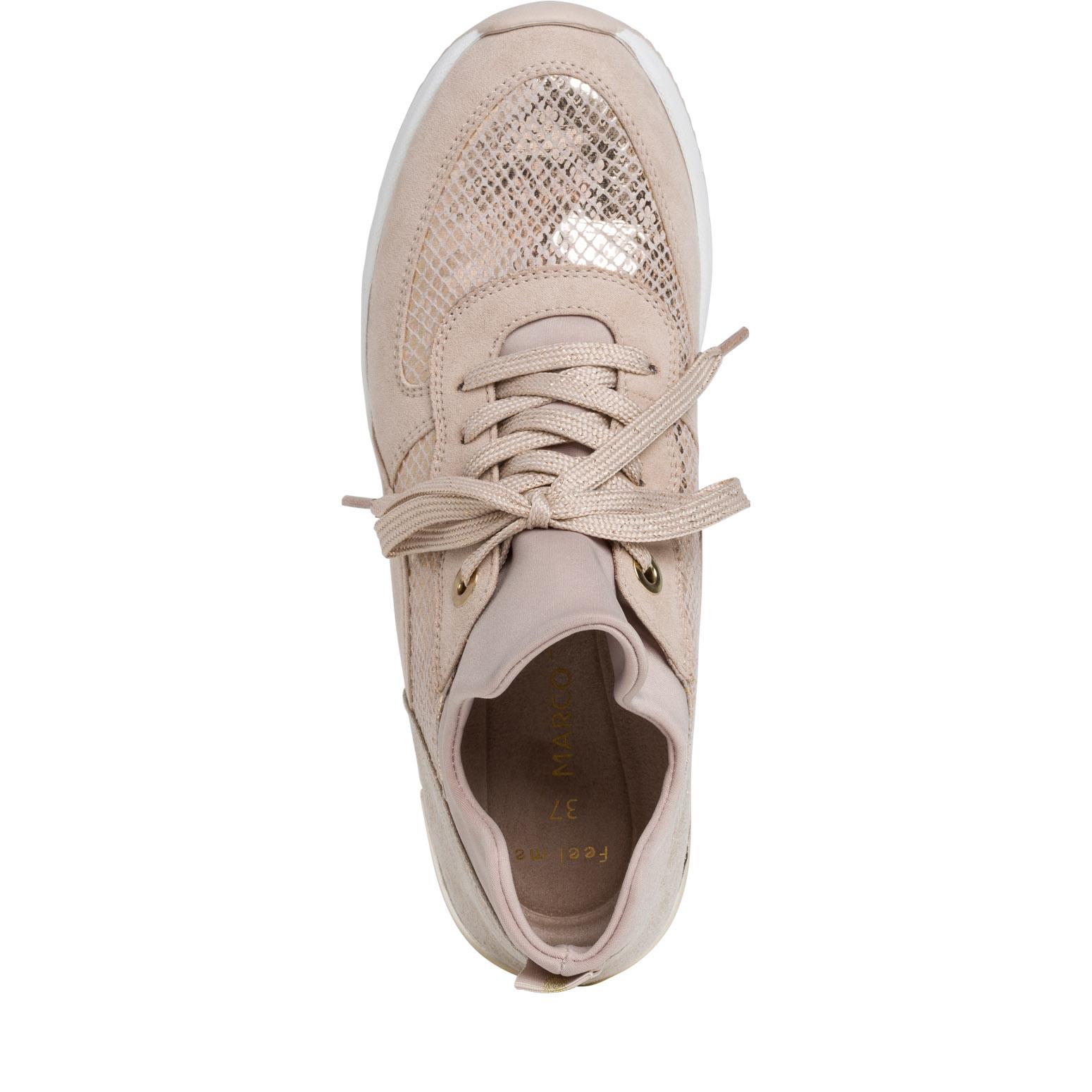 MARCO TOZZI Sneaker Femmes Merino-Laine Gris Lacets 2-23780-24neu neuf dans sa boîte