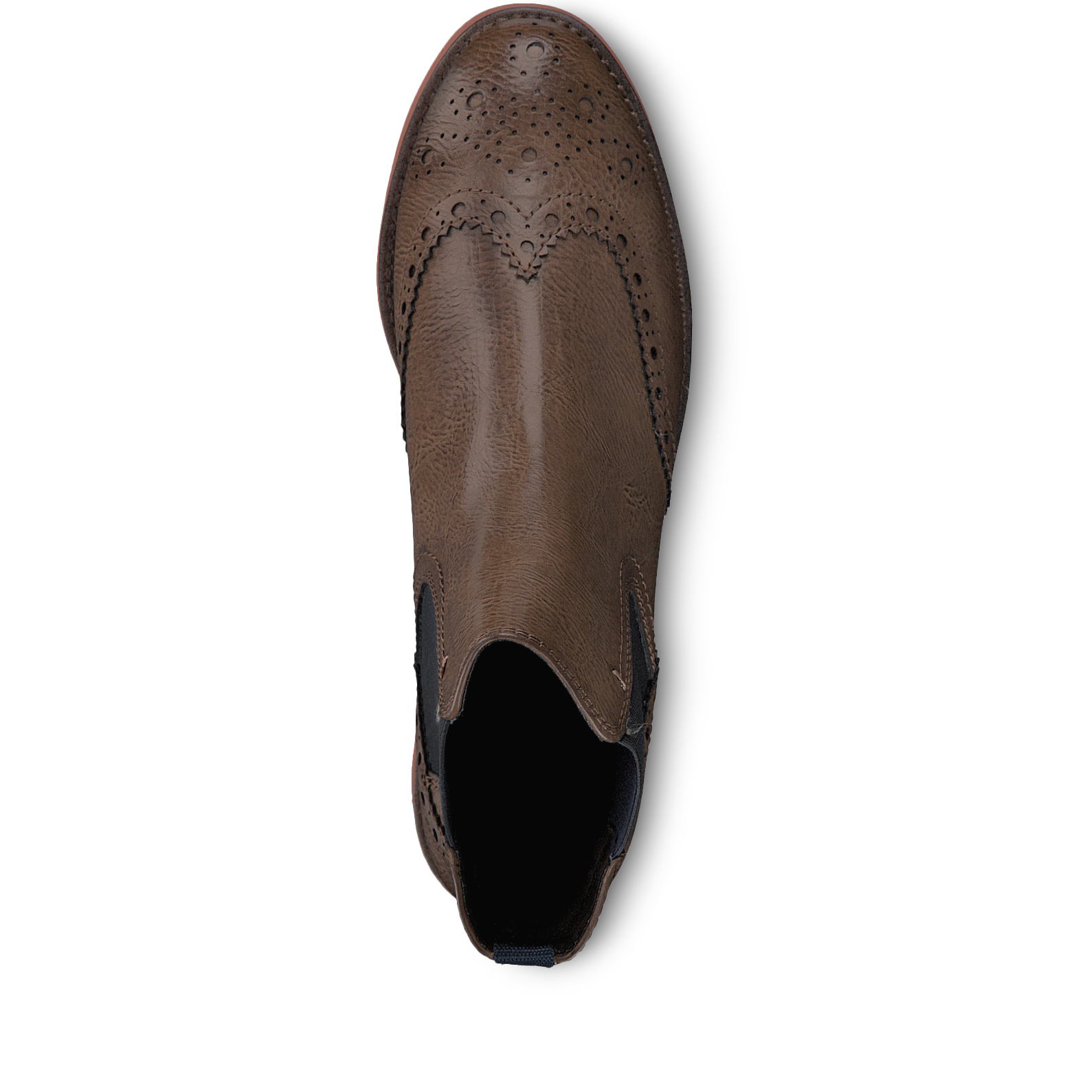 Chelsea boot - brown, COGNAC ANT.COM, hi-res
