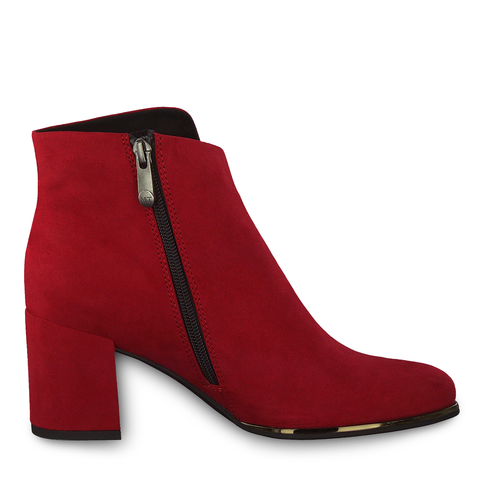 Stiefelette - rot, RED, hi-res