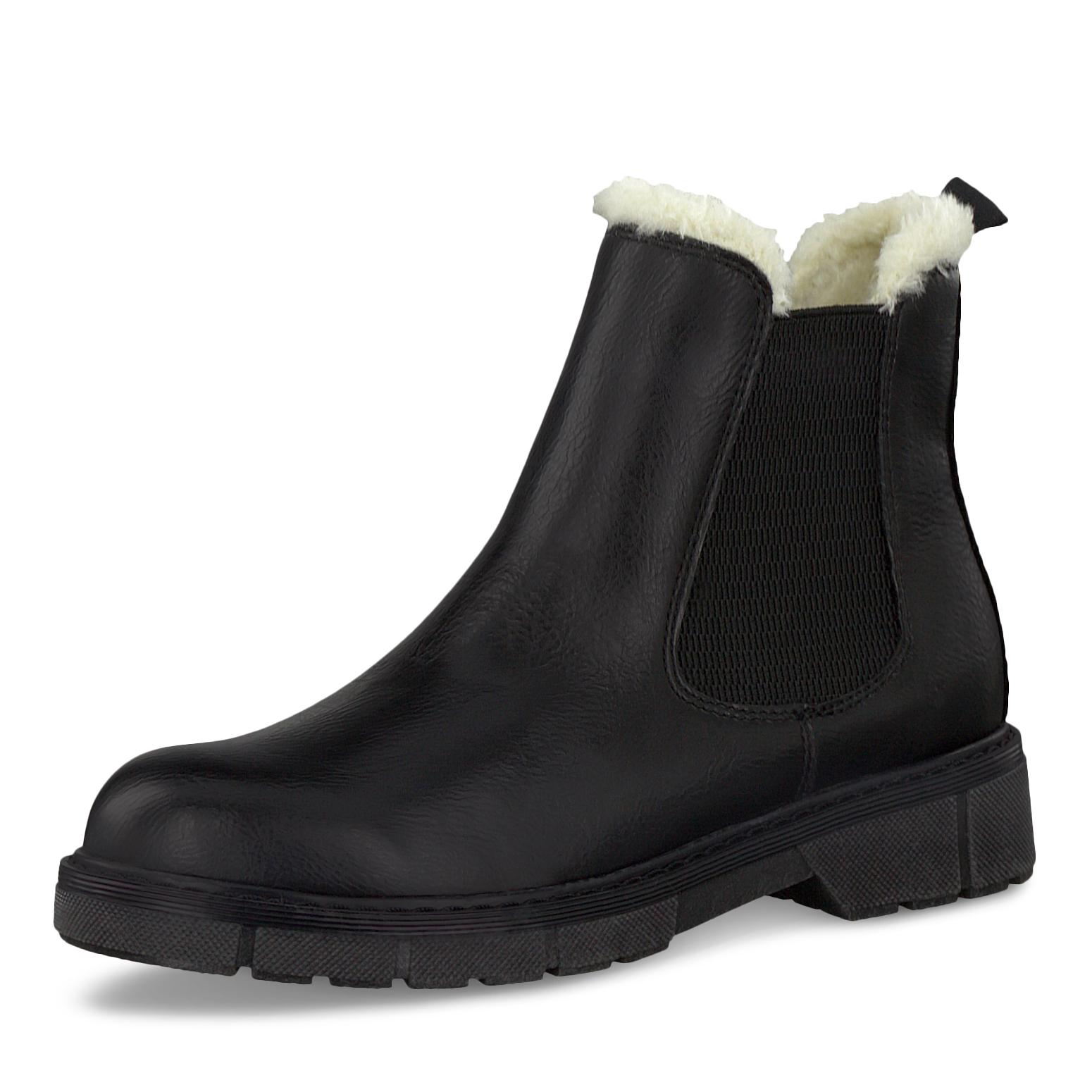 Marco Tozzi Stiefel Schwarz Größe 39, Farbe: black | real