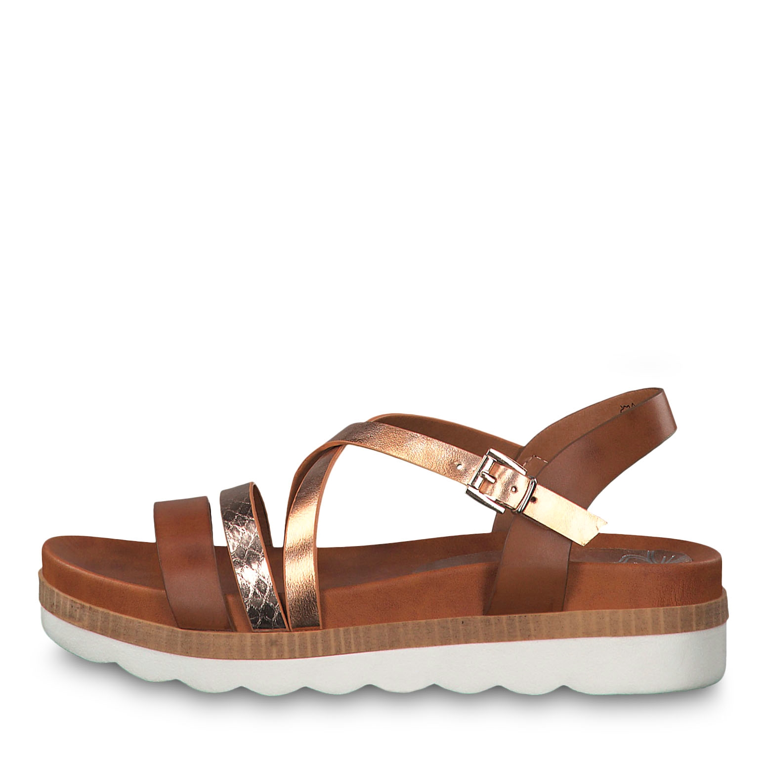 Sandal - brown, COGNAC COMB, hi-res