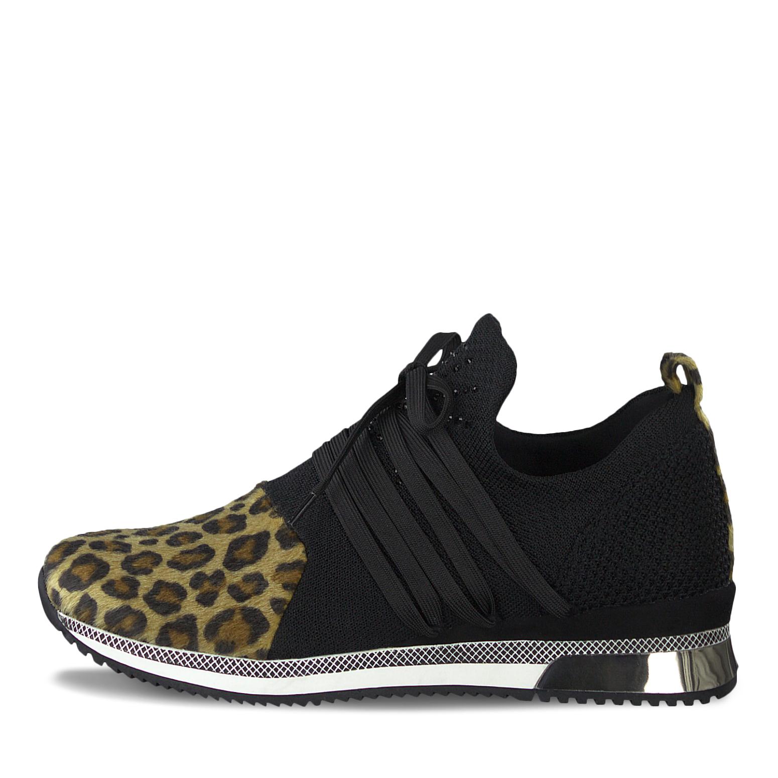 Marco Tozzi Sneaker in Farbe schwarzleo günstig online kaufen